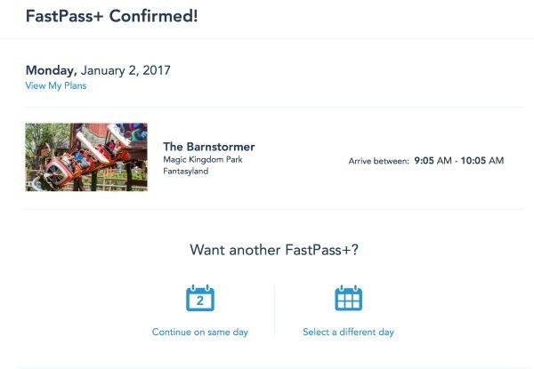 FastPass+ Confirmed