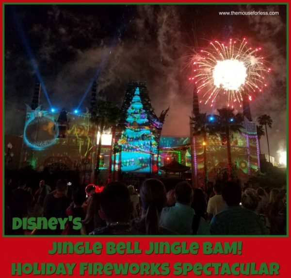 Jingle Bell Jingle Bam Holiday Spectacular At Disney S