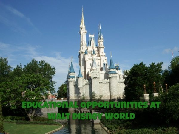 Educational Opportunities at Walt Disney World