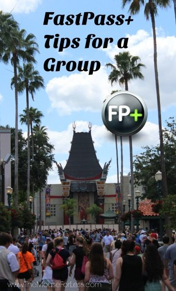 FastPass+ Tips for a Group