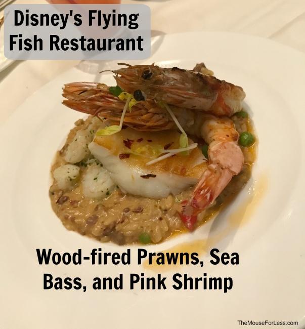 Flying fish menu disney 39 s boardwalk at walt disney world for Flying fish disney menu