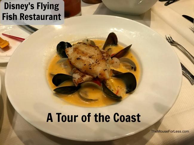Flying fish menu disney 39 s boardwalk at walt disney world for The flying fish menu