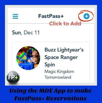 Make FP on MDE App