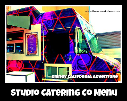 Studio Catering Co. Menu