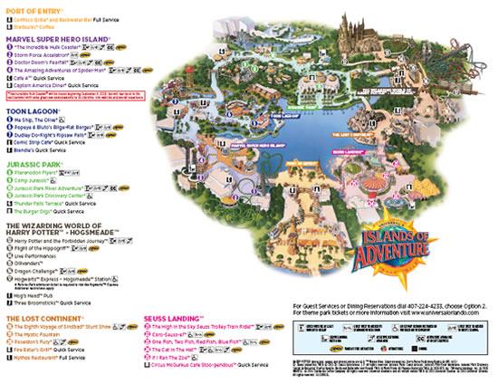 Universal IOA Map