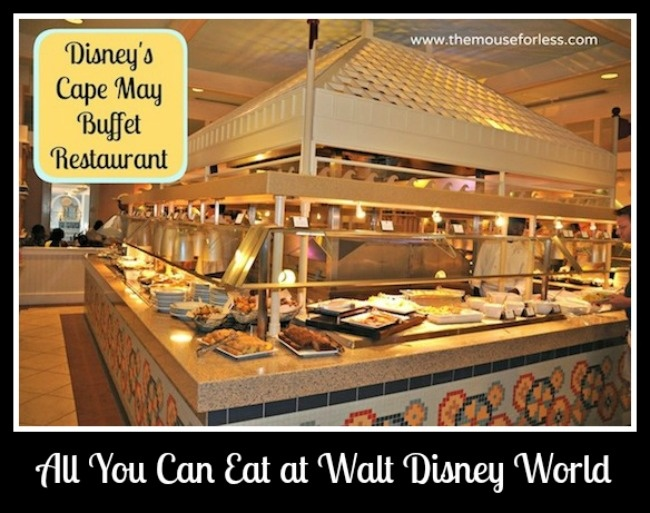 All You Can Eat at Walt Disney World