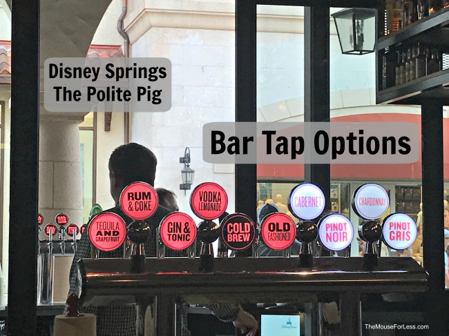 The Polite Pig Menu Disney Springs At Walt Disney World