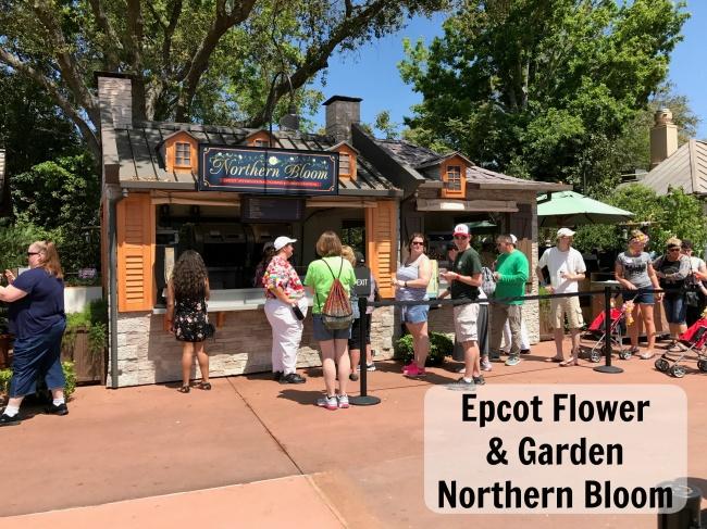 2018 Epcot Flower Garden Festival Menus Outdoor Kitchens