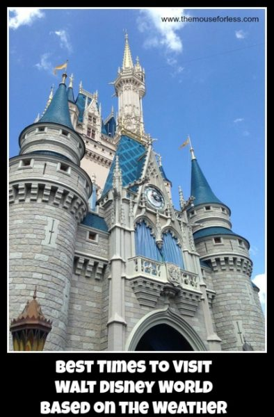 Best Times To Visit Walt Disney World Based On The Weather