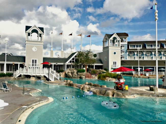Disney S Beach Club Resort Pool Full View