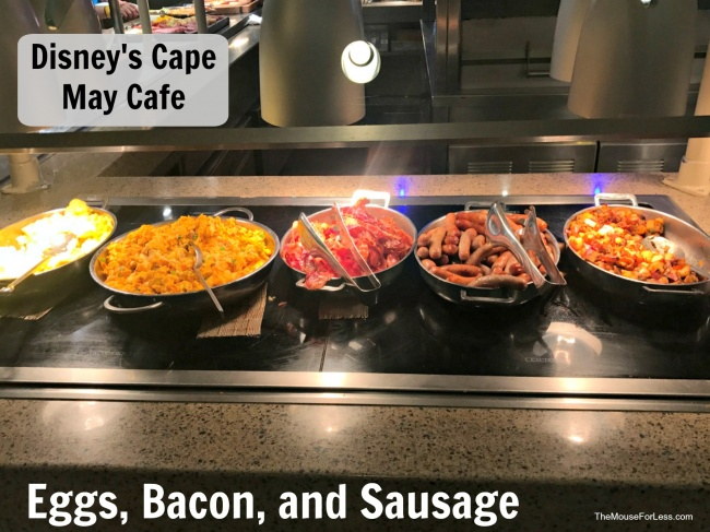 Cape May Cafe Buffet Menu | Disney's Beach Club Resort