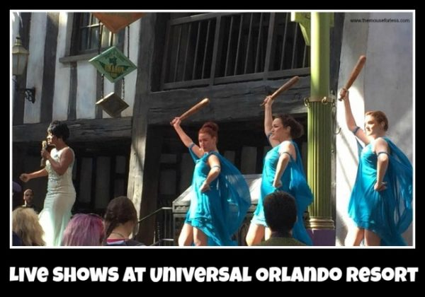 Live Shows at Universal Orlando Resort