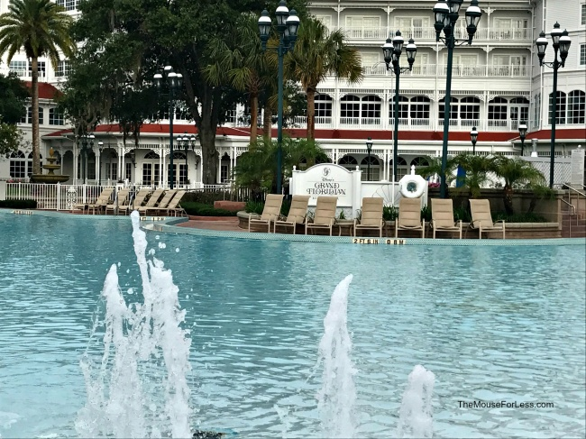 make your own fountain pool the villas at disneys grand floridian resort spa guide