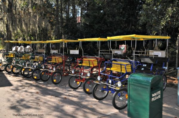 Wilderness Lodge Bike Rental, walt disney world without tickets