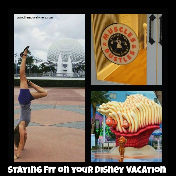 Tips to stay fit on your Disney vacation