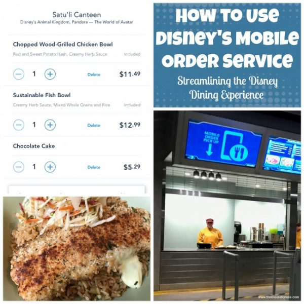 How to use Disney's Mobile Ordering Service at Walt Disney World