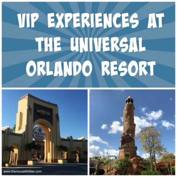 VIP Experience at Universal Orlando Resort