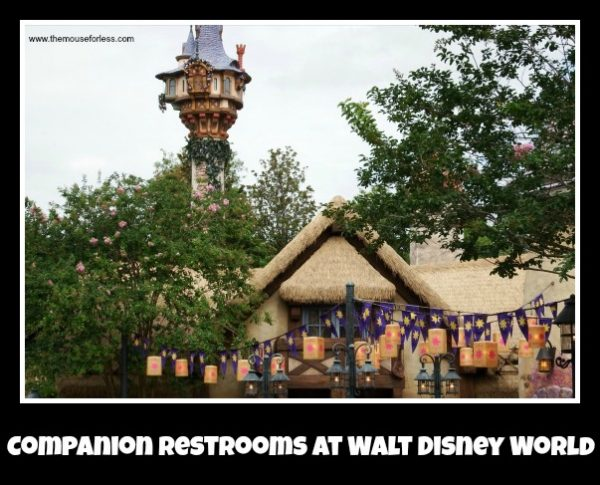 Companion Restrooms at Walt Disney World