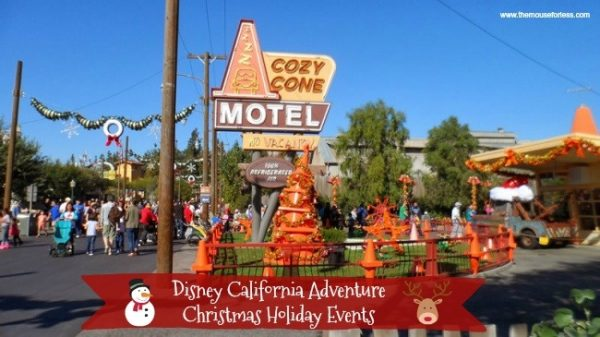 Disney California Adventure Christmas Holiday Events