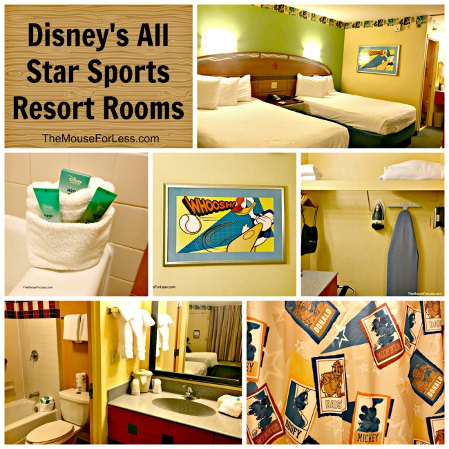 Picture Of The Rooms At Disney S All Star Sports Resort