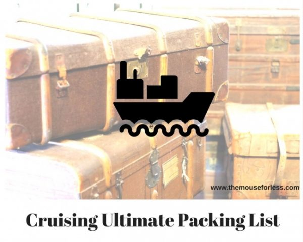 Cruising Ultimate Packing List