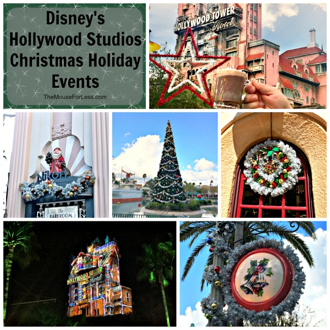 Disney's Hollywood Studios Christmas Events At Walt Disney