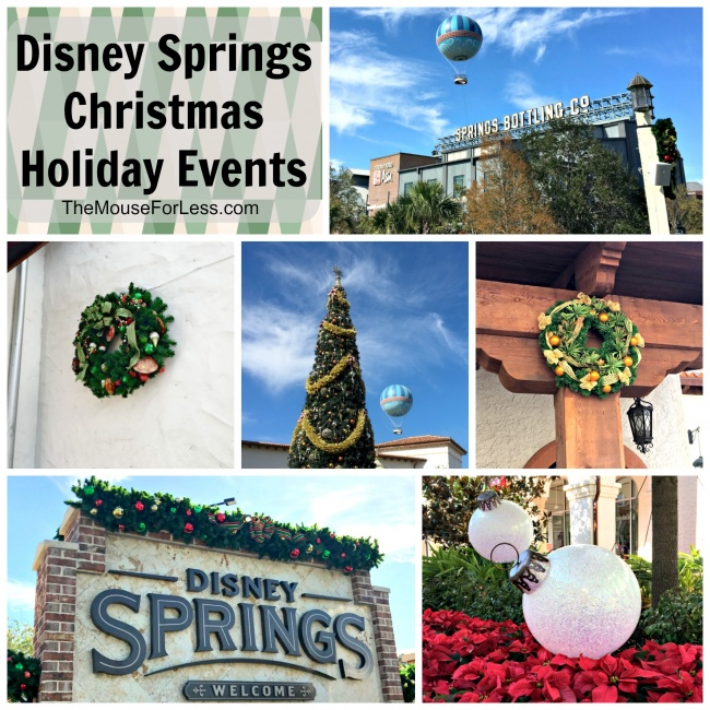Disney Springs Christmas Holiday Events At Walt Disney World