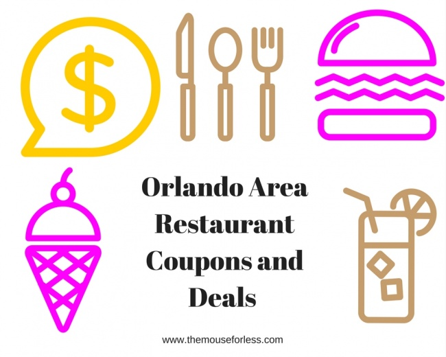 Orlando Restaurants Coupons And Savings For The Orlando Area