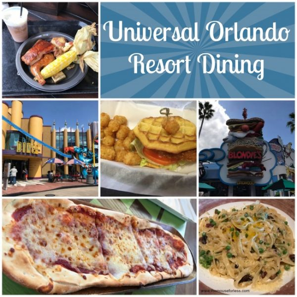 Universal Orlando Resort Dining Information And Guide