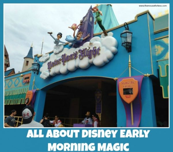Disney Early Morning Magic