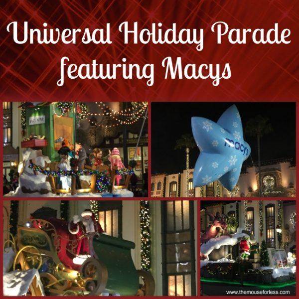 Holidays at Universal Orlando Resort | Universal Holiday Parade