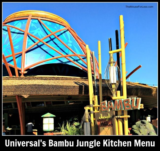 Bambu Jungle Kitchen | Volcano Bay
