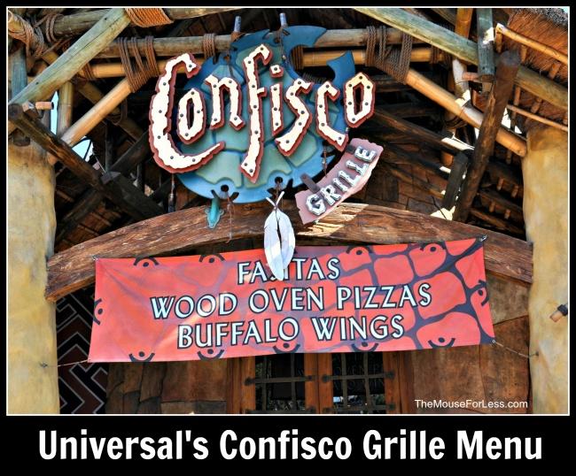 Confisco Grille | Universal Orlando Resort