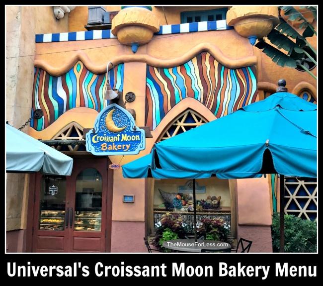 Universal's Croissant Moon Bakery