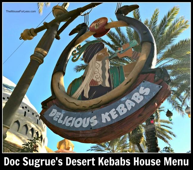 Doc Sugrue's Desert Kebabs House | Universal Orlando's Islands of Adventure