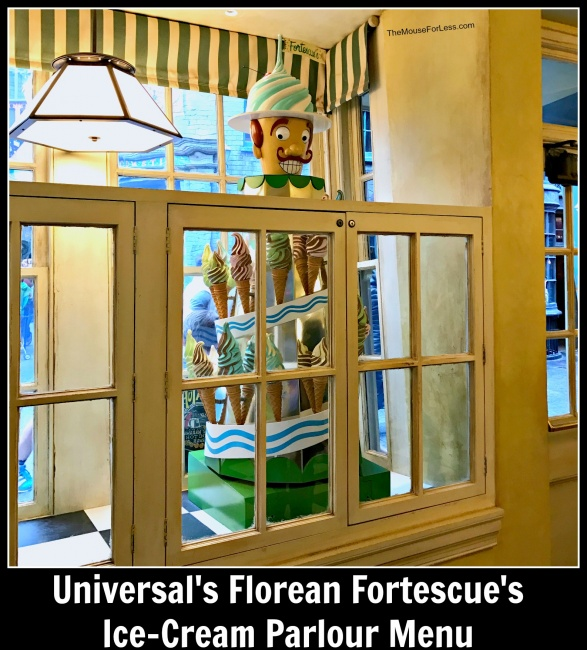 Florean Fortescue's Ice-Cream Parlour | Wizarding World of Harry Potter