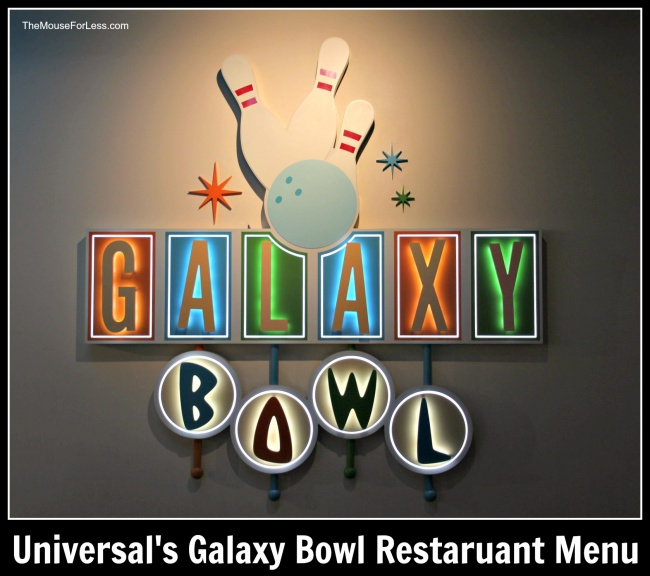 Galaxy Bowl Restaurant | Universal Orlando Resort