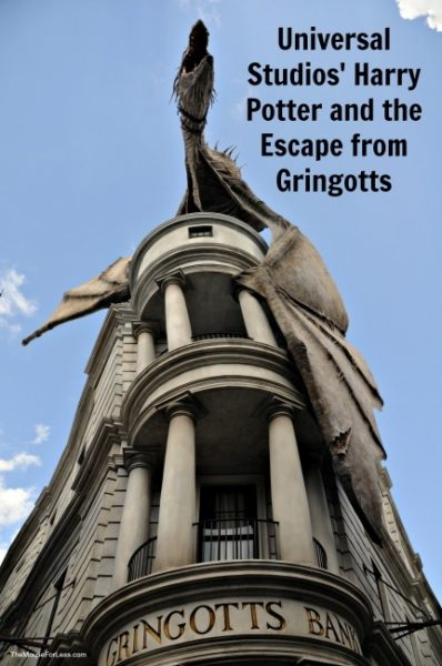 Harry Potter and the Escape from Gringotts | Universal Studios Florida