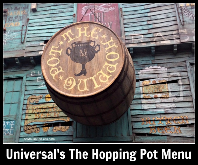 The Hopping Pot Menu
