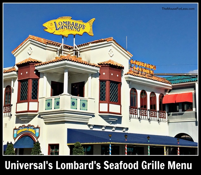 Lombard's Seafood Grille Menu