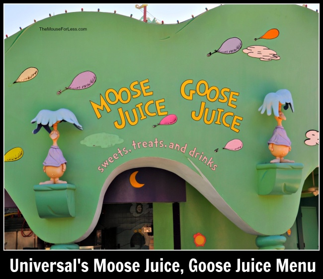Moose Juice, Goose Juice   Islands of Adventure
