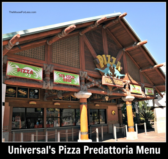 Pizza Predattoria Menu