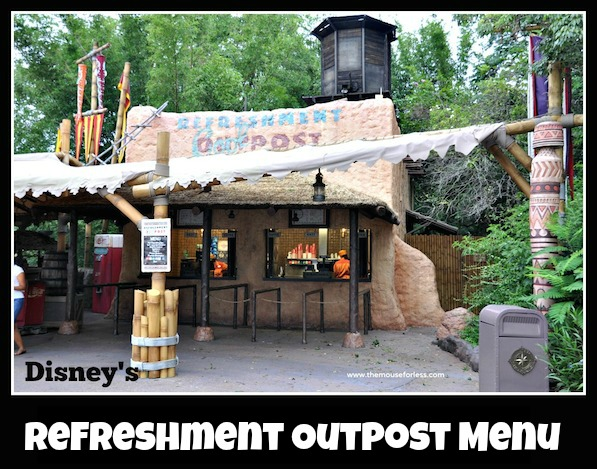 Refreshment Outpost Menu