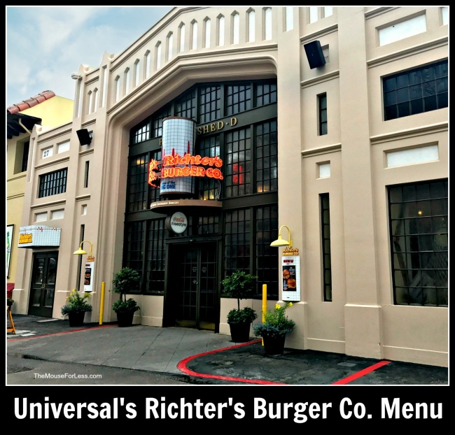 Richter's Burger Co. | Universal Studios Florida