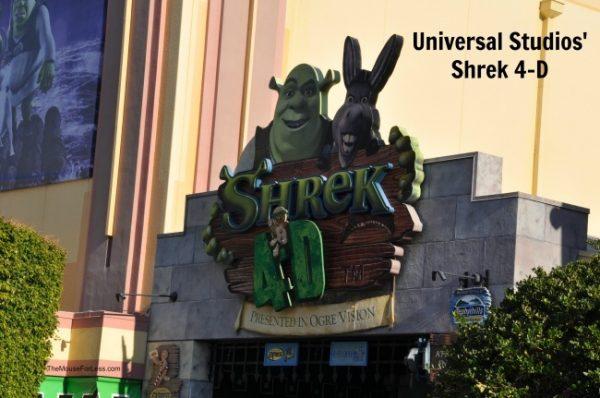 Shrek 4-D | Universal Studios Florida | Universal Orlando Resort