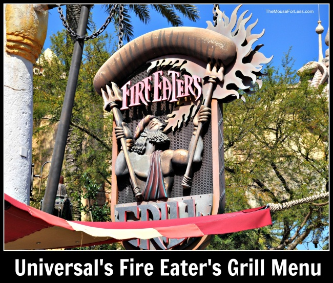Fire Eater's Grill | Islands of Adventure