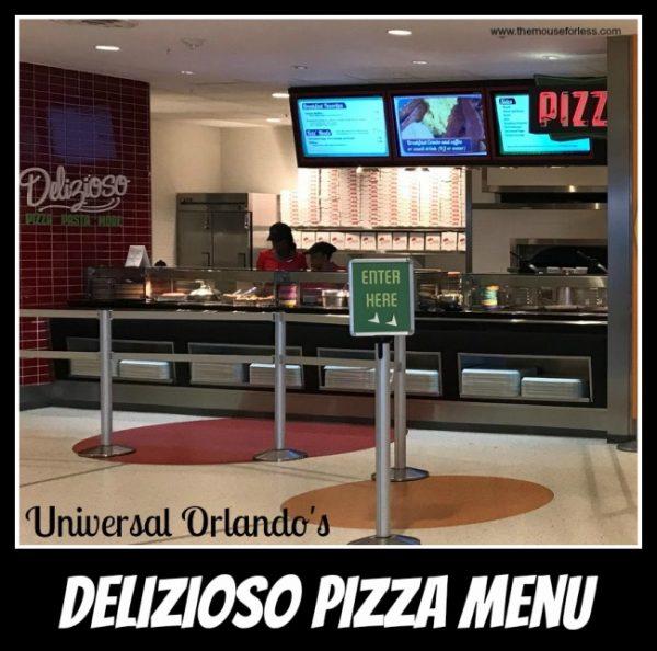 Delizioso Pizza | Universal Orlando Resort