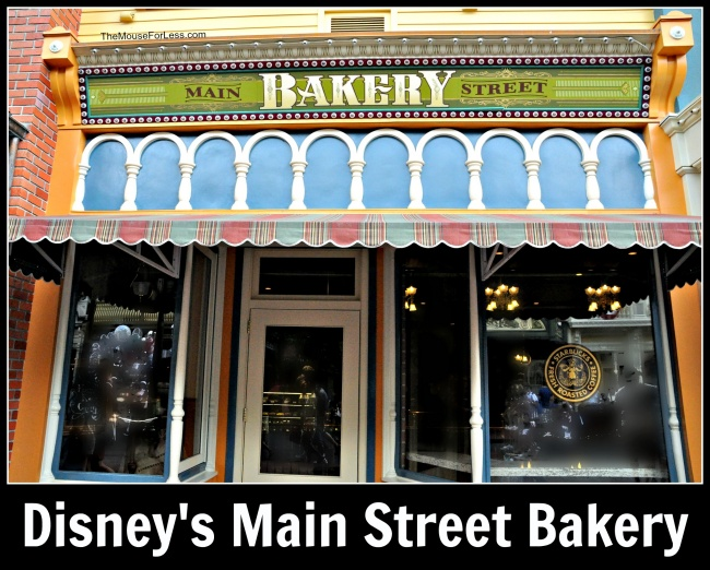Starbucks Main Street Bakery Menu Magic Kingdom at Walt Disney World