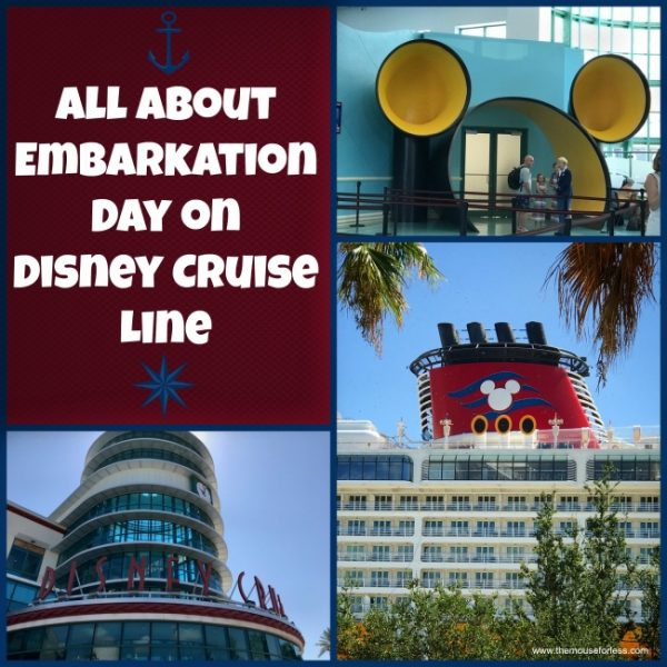 Embarkation Day on Disney Cruise Line