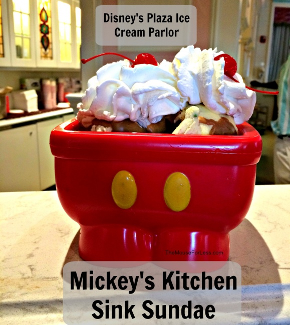 Mickey Mouse Ice Cream Parlor